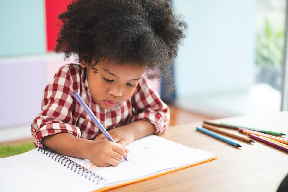 A pen pal is a creative and fun way to help your child find connection during stay-at-home orders. (Photo:Getty)