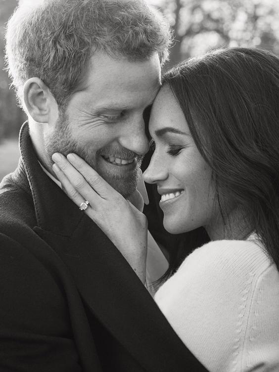 Prince Harry and Ms. Meghan Markle, December 2017 (Alexi Lubomirski)