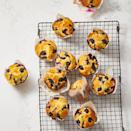 """<p>Buttermilk is the secret ingredient when it comes to making these fluffy breakfast-ready muffins.</p><p><a href=""""https://www.goodhousekeeping.com/food-recipes/a35695996/best-blueberry-muffin-recipe/"""" rel=""""nofollow noopener"""" target=""""_blank"""" data-ylk=""""slk:Get the recipe for Best Blueberry Muffins »"""" class=""""link rapid-noclick-resp""""><em>Get the recipe for Best Blueberry Muffins »</em></a></p>"""