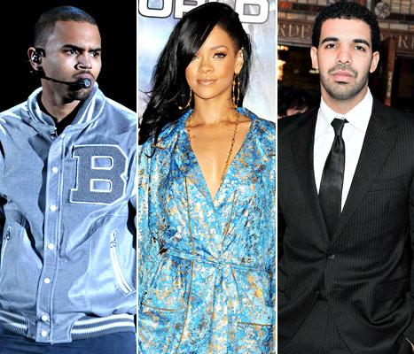 """Chris Brown and Drake's Fight: Rihanna """"Loves the Drama"""""""
