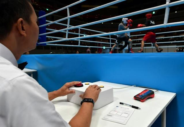 The new system is intended to make judging more transparent after a series of scandals that have rocked boxing (AFP Photo/Toshifumi KITAMURA)