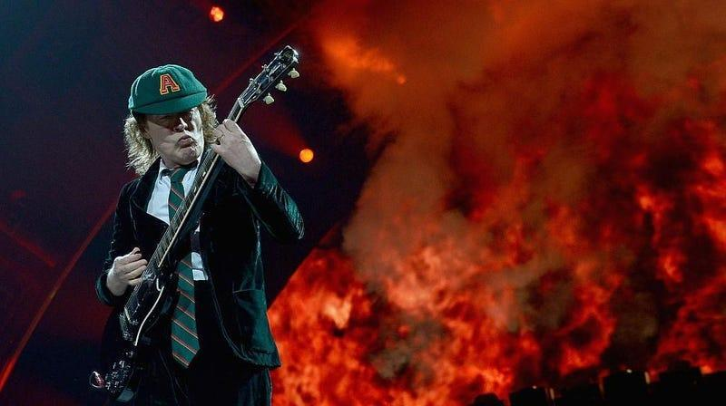AC/DC frontman Angus Young