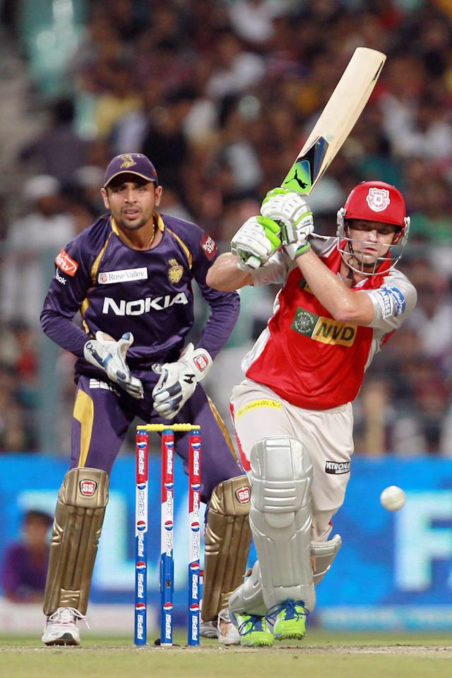 Adam Gilchrist during match 35 of the Pepsi Indian Premier League between The Kolkata Knight Riders and the Kings XI Punjab held at the Eden Gardens Stadium in Kolkata on the 26th April 2013. (BCCI)