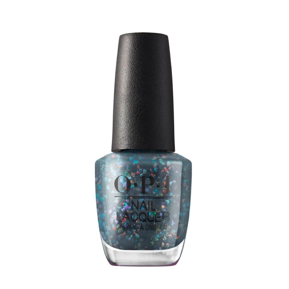 "I'm into the shimmery dimension this bluish-purple glitter delivers. It's giving me mystical, oceanic vibes that feel right for a double water sign like me. <em>—Erin Parker, commerce writer</em> $11, OPI. <a href=""https://shop-links.co/1724721839429322279"" rel=""nofollow noopener"" target=""_blank"" data-ylk=""slk:Get it now!"" class=""link rapid-noclick-resp"">Get it now!</a>"