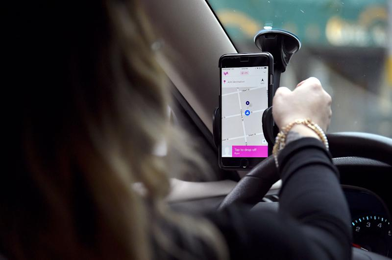 Lyft Forecasts a Profit by End of 2021, Sending Shares Surging