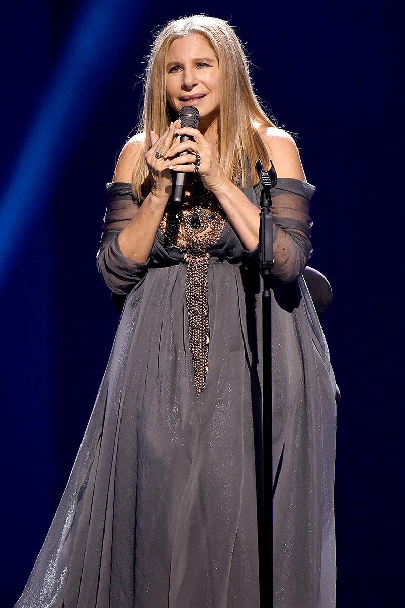 <p>Streisand's top sellers are A Christmas Album, Greatest Hits Vol. 2, Guilty, and Memories (5 million each). Guilty, which was co-produced by Barry Gibb, is her best-selling regular studio album. (Photo: Kevin Mazur/WireImage for BSB ) </p>