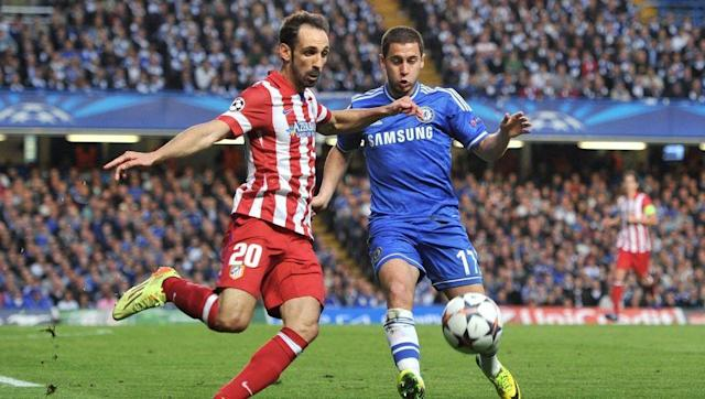 <p>The mercurial talents of Eden Hazard are difficult for any defender to negate. Since joining Chelsea in 2012, Hazard has been an incandescently bright spark in Chelsea's first team, providing goals and assists in abundance and generally being a thorn in the side of opposition defences.</p> <br><p>On the receiving end of Hazard's attacks on Wednesday will be Juanfran, a full back who epitomises consistency. The 32-year-old's level-headed approach to defending could potentially nullify the otherwise dramatic effect Hazard will have on the game, dispossessing the Belgian and helping to launch the Atletico counter-attack. </p>