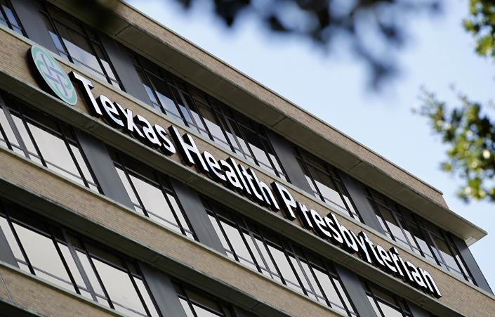 Ebola victim Thomas Eric Duncan died Wednesday morning at Texas Health Presbyterian in Dallas. (Reuters/Mike Stone)