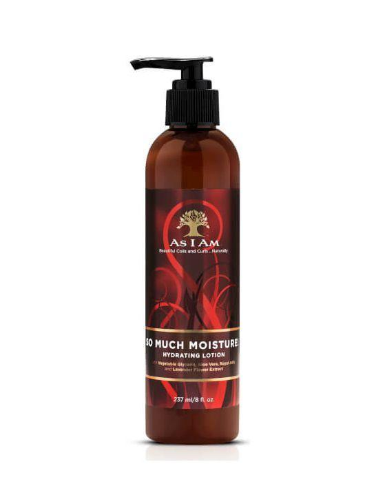 """<p><a href=""""https://www.lookfantastic.com/as-i-am-so-much-moisture-hydrating-lotion-237ml/11321492.html?"""" rel=""""nofollow noopener"""" target=""""_blank"""" data-ylk=""""slk:BUY"""" class=""""link rapid-noclick-resp"""">BUY</a></p><p>Specifically designed for curly, coyly and kinky hair, this nourishing moisturiser is great for daily use and cheeky top ups. It also has a detangling effect to help make your tresses a little more manageable. You'll get the best use out of it with freshly washed hair. <br></p>"""