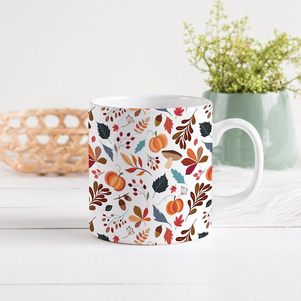 <p>If fall was a cup, it would be this fun <span>Autumn Days Ceramic Mug</span> ($14, originally $16). how pretty are the illustrations? It's a great way to ring in the new season in style.</p>
