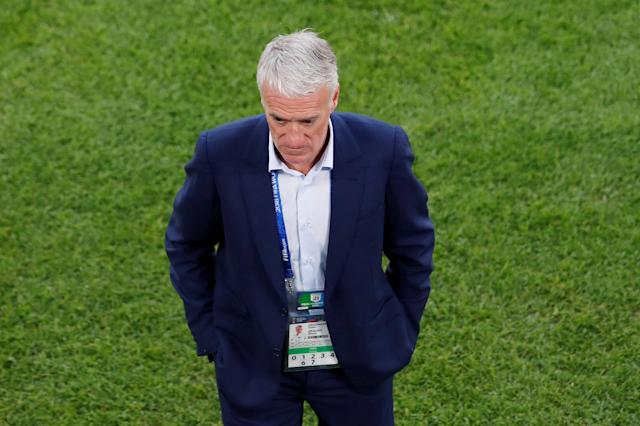 Soccer Football - World Cup - Group C - France vs Peru - Ekaterinburg Arena, Yekaterinburg, Russia - June 21, 2018 France coach Didier Deschamps REUTERS/Andrew Couldridge
