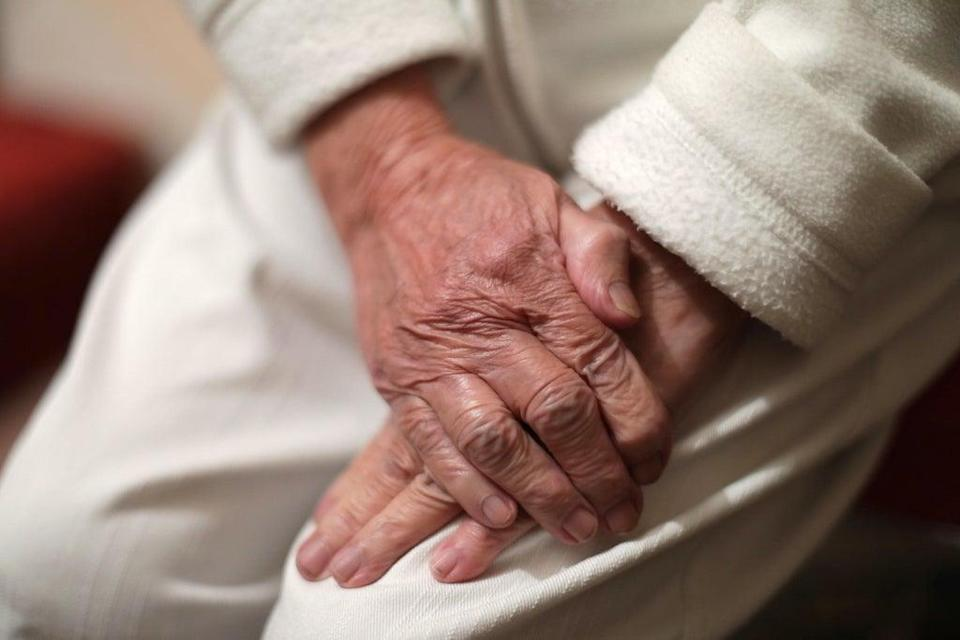 Care home staff must be vaccinated by November 11 (Yui Mok/PA) (PA Wire)