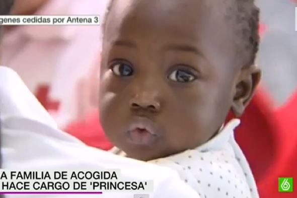 Baby found alone migrant boat in Spain