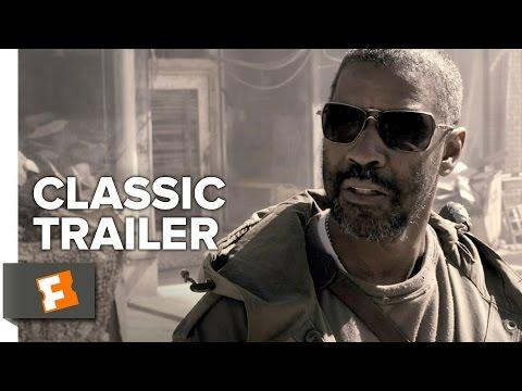 """<p>The angle? Thirty years <em>after</em> things have gone fully dystopia. Eli (Denzel Washington) marches along as the world has turned into a landscape of dark nothingness, and while he prefers to keep things peaceful, he's also not afraid to fight. Oh, and he's blind. There are furless cats, chainsaw fights, and Mila Kunis.<em></em></p><p><a class=""""body-btn-link"""" href=""""https://watch.amazon.com/detail?asin=B00BWUI6R6&tag=syn-yahoo-20&ascsubtag=%5Bartid%7C10054.g.31669214%5Bsrc%7Cyahoo-us"""" target=""""_blank"""">Amazon</a> <a class=""""body-btn-link"""" href=""""https://go.redirectingat.com?id=74968X1596630&url=https%3A%2F%2Fitunes.apple.com%2Fus%2Fmovie%2Fthe-book-of-eli%2Fid357620152%3Fat%3D1001l6hu%26ct%3Dgca_organic_movie-title_357620152&sref=https%3A%2F%2Fwww.esquire.com%2Fentertainment%2Fmovies%2Fg31669214%2Fbest-end-of-the-world-movies%2F"""" target=""""_blank"""">Apple</a></p><p><a href=""""https://www.youtube.com/watch?v=zSMHmtaoXtI"""">See the original post on Youtube</a></p>"""