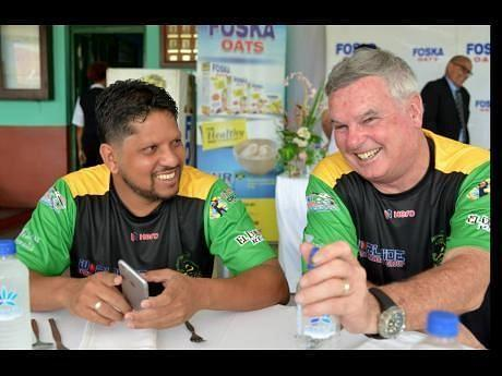 Sarwan was named assistant coach of the Jamaica Tallawahs ahead of CPL 2018. Credits: My Vue News