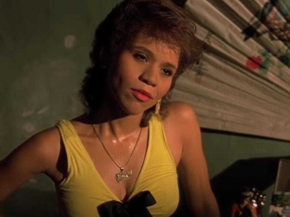 """Rosie Perez in """"Do the Right Thing."""""""