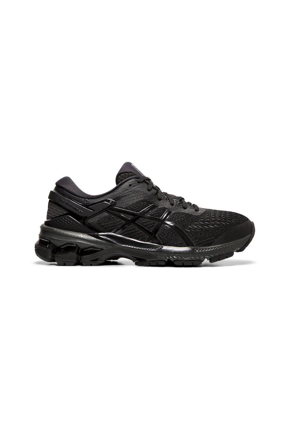 """<p><strong>Which style? </strong>Gel-Kayano 26</p><p><strong>How much?</strong>£108.50</p><p><a class=""""link rapid-noclick-resp"""" href=""""https://go.redirectingat.com?id=127X1599956&url=https%3A%2F%2Fwww.asics.com%2Fgb%2Fen-gb%2Fgel-kayano%25E2%2584%25A2-26%2Fp%2F1012A457-002.html%3Fwidth%3DStandard&sref=https%3A%2F%2Fwww.womenshealthmag.com%2Fuk%2Ffitness%2Fg28619284%2Fvegan-trainers%2F"""" rel=""""nofollow noopener"""" target=""""_blank"""" data-ylk=""""slk:SHOP NOW"""">SHOP NOW</a></p><p>The king of running trainers, <a href=""""https://www.womenshealthmag.com/uk/gym-wear/g32455854/asics-sale/"""" rel=""""nofollow noopener"""" target=""""_blank"""" data-ylk=""""slk:Asics"""" class=""""link rapid-noclick-resp"""">Asics</a> makes a wide range of Vegan options (anything that isn't animal-friendly will have an 'L' for leather in the name). </p><p>Our favourites (and fashion editors everywhere, just FYI) are the trusty Gel-Kayanos for their super cushioned sole, odour-resistant properties and cool reflective strips that make night time jogs a whole lot safer. No head torches here.</p>"""