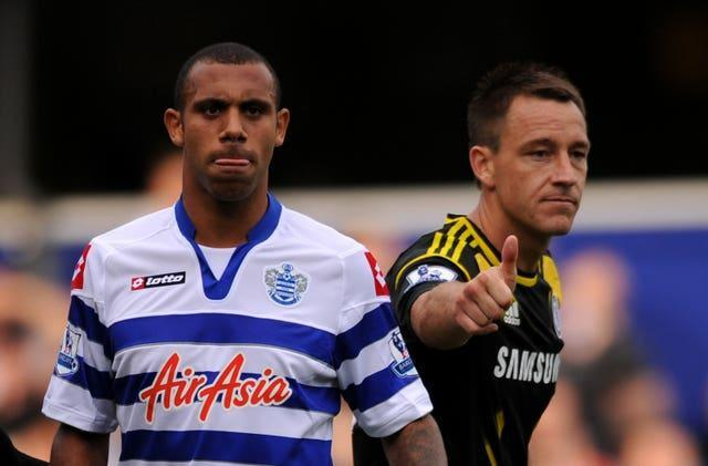 Anton Ferdinand, left, was involved in a long-running racism saga with Chelsea's John Terry
