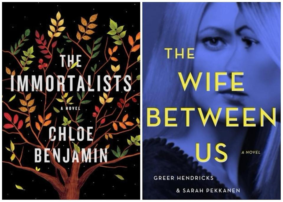 """""""The Immortalists,"""" """"The Wife Between Us,"""" and other books coming out this week"""