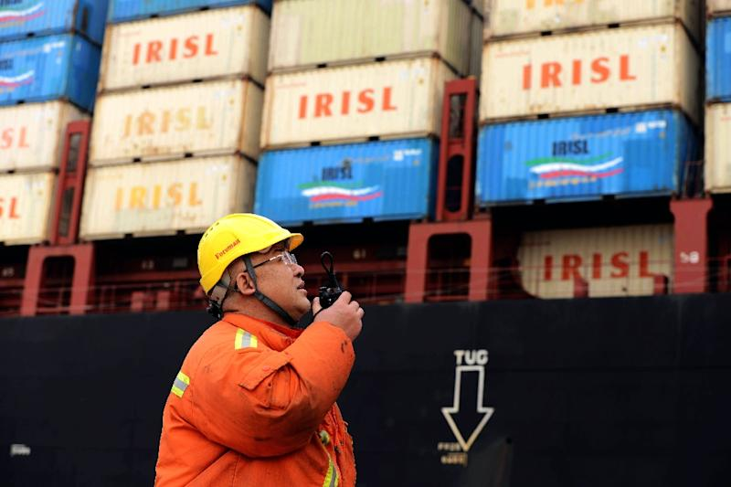China said exports fell more than predicted in September, disappointing markets (AFP Photo/)
