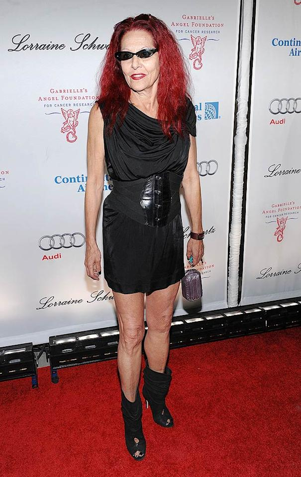 "Costume designer Patricia Field is best known for her work on ""Sex and the City."" Which of the gals do you think this outfit would look best on? We're voting for Samantha. Dimitrios Kambouris/<a href=""http://www.wireimage.com"" target=""new"">WireImage.com</a> - October 20, 2009"