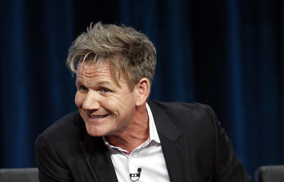 Judge and executive producer Gordon Ramsay attends a panel for the television show