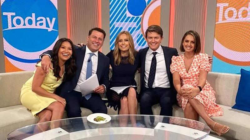 Tracy Vo and fellow Today show presenters