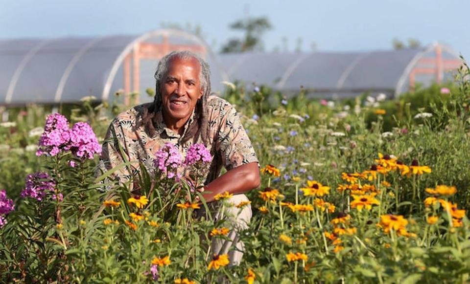 Jim Embry, founder of Sustainable Communities Network, says gardening is a revolutionary act.