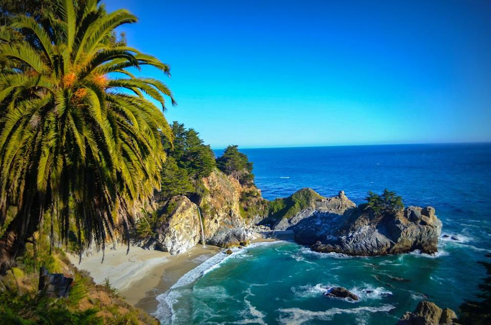 """<p>The biggest problem with Big Sur – <a href=""""https://www.thrillist.com/travel/nation/havasu-falls-big-sur-niagara-falls-and-the-most-beautiful-place-in-every-state?utm_source=yahoo&utm_medium=syn&utm_term=web&utm_campaign=travel"""" rel=""""nofollow noopener"""" target=""""_blank"""" data-ylk=""""slk:the most beautiful place in California"""" class=""""link rapid-noclick-resp"""">the most beautiful place in California</a> – is that in order to enjoy it for more than, like, four minutes, you've either gotta shell out a month's rent for a hotel room or back up traffic on Highway 1. Which is why you're gonna want to hit this gem instead. Here, if you're not hiking up 3,000 ft ridges, admiring the redwoods, or gazing into an 80ft granite-cliff waterfall, you can scuba dive in one of the <a href=""""https://www.thrillist.com/travel/nation/world-s-best-scuba-diving-the-great-barrier-reef-darwin-s-arch-and-other-top-spots-for-divers?utm_source=yahoo&utm_medium=syn&utm_term=web&utm_campaign=travel"""" rel=""""nofollow noopener"""" target=""""_blank"""" data-ylk=""""slk:best dive spots"""" class=""""link rapid-noclick-resp"""">best dive spots</a> on the West Coast. Just make sure to bring that dry suit. <i><i><i>(Photo:</i></i> Shutterstock<i>)</i></i></p>"""