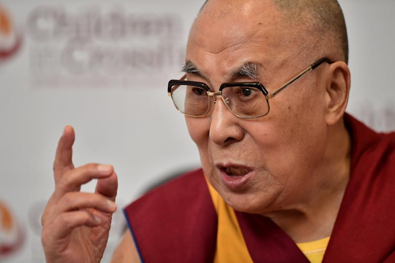 """Buddha [would have] definitely helped those poor Muslims,"" the Tibetan spiritual leader said. (Charles McQuillan via Getty Images)"