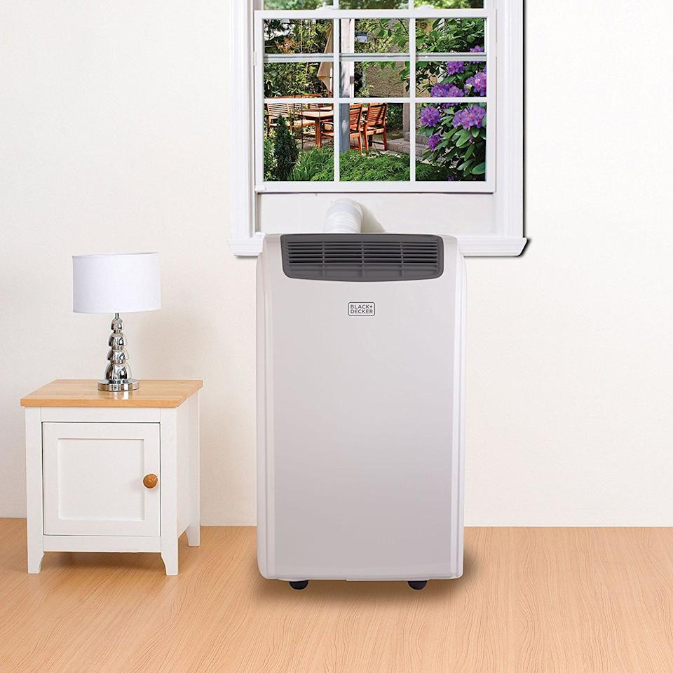 <p>The portable air conditioner is gaining ground on the window air conditioner, and it's easy to see why. For many people, it's a better alternative. It's easier to set up and doesn't require heavy lifting to install. These free-standing appliances have caster wheels that allow you to move them easily inside the room or relocate them from one room to another. All you have to do is attach a hose from the unit to a lightweight mount that fits in your window. It's a simple way to get cool air in any room. <br></p><p><strong>How We Tested These Air Conditioners</strong></p><p><strong></strong>We tested our air conditioners on the same day, in the same space for a set period with consistent moisture and indoor/outdoor temperature. We set the temperature on each air conditioner to 68 degrees, maximum fan speed, and aimed their outlet at a target eight feet away and measured the temperature at four locations on the target. </p><p>We investigated other metrics, too. We looked at the outlet temperature of each appliance to check for consistent temperature differential and we tested on a hard surface to ensure that rattles would be obvious. We tested all remotes to be sure they played nicely with the unit. </p><p>We tested the top three units in this review. They all performed well and should meet the needs of most users, producing a consistent temperature with a pleasant white noise. Because we know not everyone has the same demands, we recommended additional units based on our research into the market, their unique features, user reviews, and testing of similar options. </p>