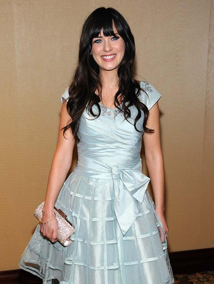 """January 17: Zooey Deschanel turns 31 Frazer Harrison/<a href=""""http://www.gettyimages.com/"""" target=""""new"""">GettyImages.com</a> - February 27, 2010"""