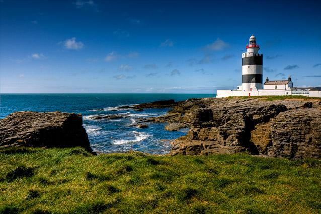 Hook Head Lighthouse, Ireland. Photo: Andrea Mucelli - Guided tours take place year-round, every half-hour between 10am and 5.30pm between June to August and hourly between 11am and 5pm for the rest of the year. The 115-step climb to the top is worth the view, and you may even be lucky enough to spot whales and dolphins as they breach the surface—winter is the best time to spot these beautiful marine mammals.