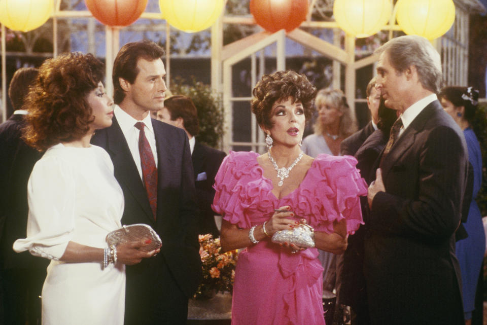 Michael Nadar and Joan Collins on dynasty