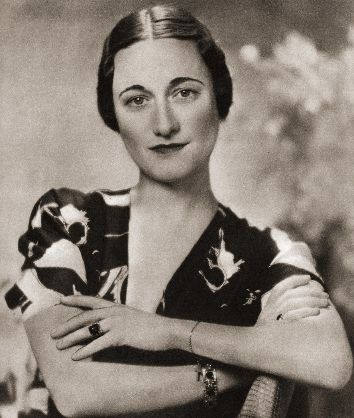 Wallis Simpson, later the Duchess of Windsor, born Bessie Wallis Warfield, 1896 – 1986. American socialite married to Prince Edward, Duke of Windsor, formerly King Edward VIII of the United Kingdom. From the Coronation Souvenir Book published 1937. (Photo by: Universal History Archive/Universal Images Group via Getty Images)