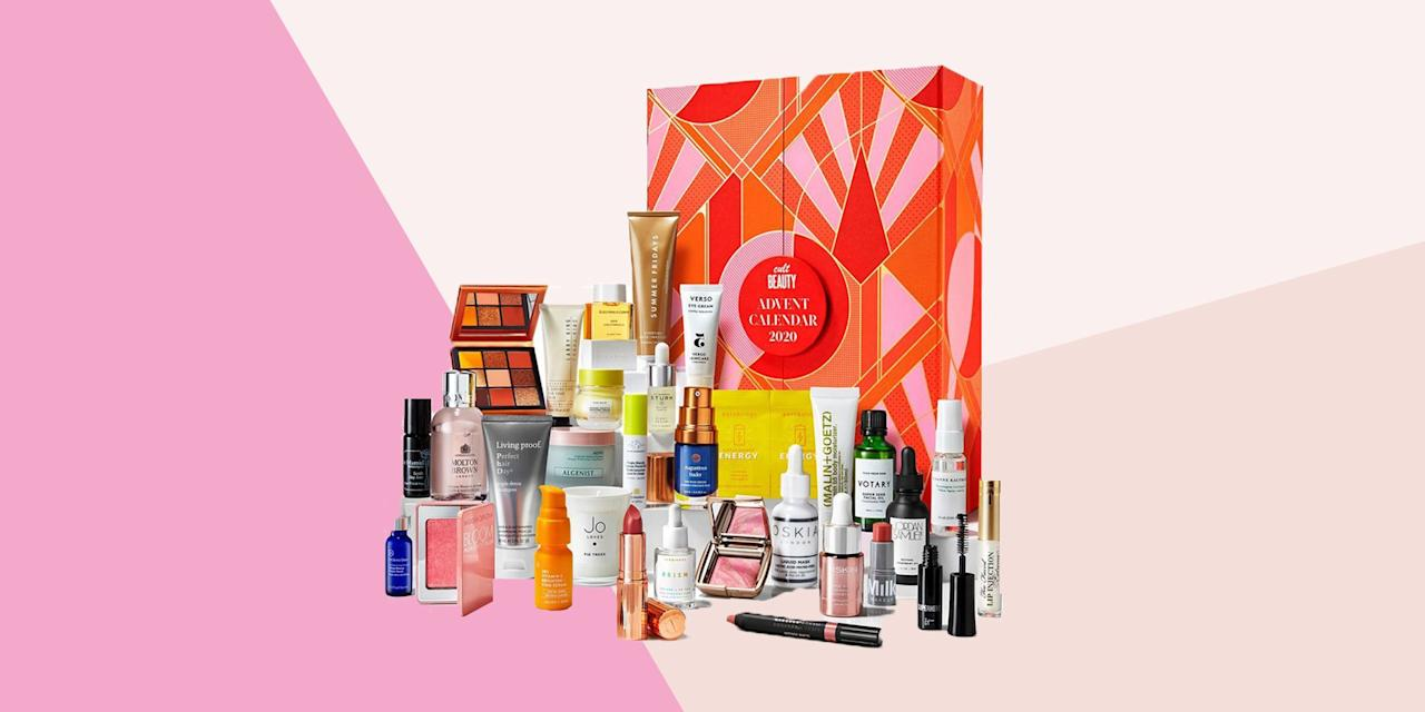"""<p>I know, I know. You've not even packed away your sandals yet. Yet here you are, taking a sneaky peek at the best beauty advent calendars of 2020 – one of the less-traditional highlights of the festive season. </p><p>While those boots and padded jackets might still be stuffed under your bed, there is good reason to think ahead and get a little organised in the Christmas shopping stakes: after all, these calendars sell out fast (<a href=""""https://go.redirectingat.com?id=127X1599956&url=https%3A%2F%2Fwww.cultbeauty.co.uk&sref=https%3A%2F%2Fwww.womenshealthmag.com%2Fuk%2Fbeauty%2Fskin%2Fg28843130%2Fbeauty-advent-calendars%2F"""" target=""""_blank"""">Cult Beauty</a> stole the crown for clean shelves in less than two hours last year.)</p><h2 class=""""body-h2"""">What actually is a beauty advent calendar, then?</h2><p>If you're still puzzled by the phenomenon that is The Beauty Advent Calendar, let me catch you up. These weighty boxes are just like an original advent calendar, only behind each numbered door lies a pampering treat from the brand of your choice. </p><p>In the past few years, these calendars have become a behemoth craze, and now just about everyone is getting in on the act. For serious skincare fans, there's the likes of Liberty (good luck) Cult Beauty and SpaceNK, while brands such as Elemis and L'Occitane offer generous collections for brand loyalists. Vegan and cruelty-free options come from the likes of Holland and Barrett & The Body Shop, while Bareminerals always delivers for the sensitive-skinned among us. </p><p>The real draw, though, is the mammoth savings you can score. Many of these edited collections are worth two, three or four times their retail price, meaning you can try new and classic products without having to spend your entire Christmas budget. </p><h2 class=""""body-h2"""">The best beauty advent calendars of 2020</h2><p>This year, the choice is set to be overwhelming, so trust us to keep you up to date with all the best calendars, including exactly how to """
