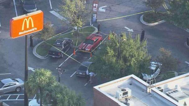 PHOTO: Tampa police are 'optimistic' that a tip that led them to a McDonald's to investigate a person with a gun is connected to the recent string of murders in the city's Seminole Heights neighborhood. (WFTS)