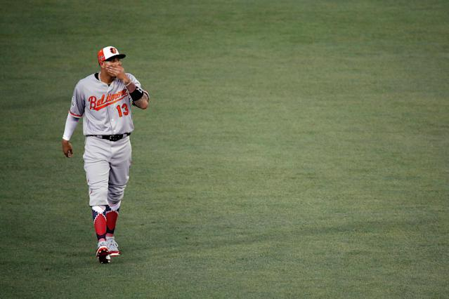Manny Machado's next stop could be Los Angeles. (Getty Images)