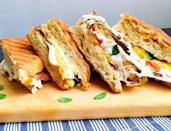 """<p><span>BZT is the new BLT.</span></p><p><span>Get the recipe from </span><a href=""""https://www.delish.com/cooking/recipe-ideas/recipes/a43496/bzt-panini-recipe/"""" rel=""""nofollow noopener"""" target=""""_blank"""" data-ylk=""""slk:Delish"""" class=""""link rapid-noclick-resp"""">Delish</a><span>.</span><br></p>"""