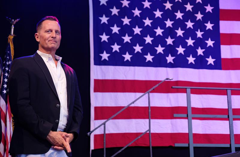 Trump taps Richard Grenell as acting head of intelligence