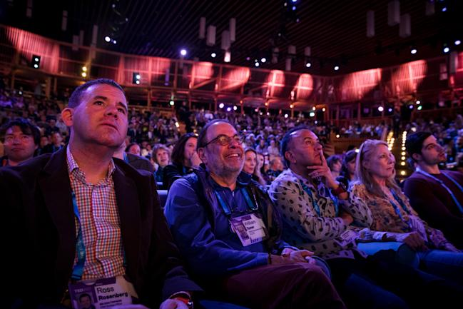TED conference 2017 audience