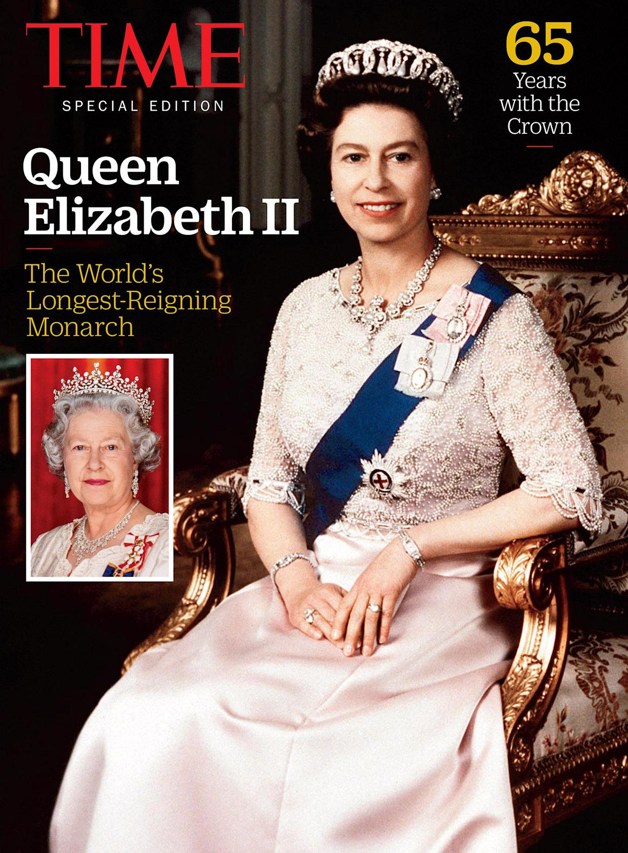 TIME Special Edition Cover of Queen Elizabeth II