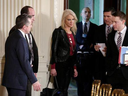 United States  gov't ethics watchdog urges investigation into top Trump aide Conway