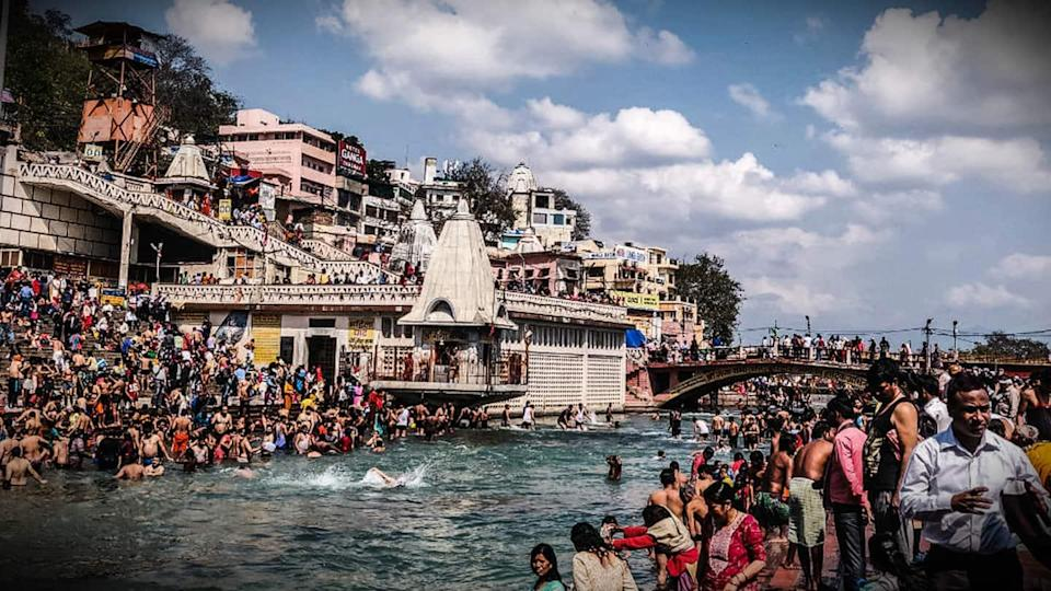 1,701 test positive at Kumbh Mela, 50% of force withdrawn