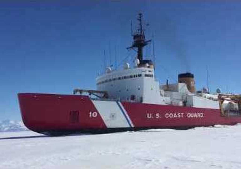 "<p>The United States Coast Guard heavy icebreaker Polar Star <a href=""http://www.themercury.com.au/news/tasmania/us-coast-guard-icebreaker-polar-star-arrives-in-hobart/news-story/aa4a44a0d691a40c2d537137a2274917"" target=""_blank"">arrived in Hobart, Australia, on the morning of February 15</a> after completing an ice cutting operation in Antarctica.</p><p>The ship, which originally sailed from Seattle, plowed a channel through about 15 miles (24 kilometers) of ice about 8.2 feet (2.5 meters) in the McMurdo Sound strait. According to a Coast Guard <a href=""https://content.govdelivery.com/accounts/USDHSCG/bulletins/1d8d9de"" target=""_blank"">press release</a>, the Antarctica operation faced multiple logistical challenges, including flooding in the ship's engine room at a rate of 20 gallons per minute and a gas turbine failure.</p><p>This file footage from January 13 shows the ship in McMurdo Sound. Credit: US Coast Guard via Storyful</p>"