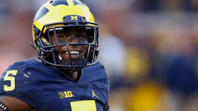 The former Michigan star isn't letting critics get the best of him in the run-up to the NFL Draft.