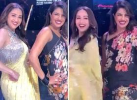 Watch Priyanka Chopra, Madhuri Dixit have a dance-off on 'Dola Re Dola' and 'Pinga'