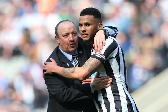 Chelsea and Tottenham target Jamaal Lascelles 'very happy' at Newcastle