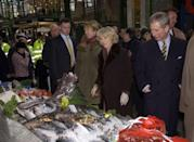 <p>All royals avoid eating shellfish, since it's the seafood that's most likely to cause food poisoning. Yikes!</p>