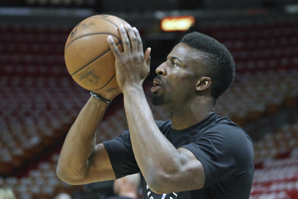 David Nwaba averaged 7.9 points and 4.7 rebounds for Chicago last season. (AP)